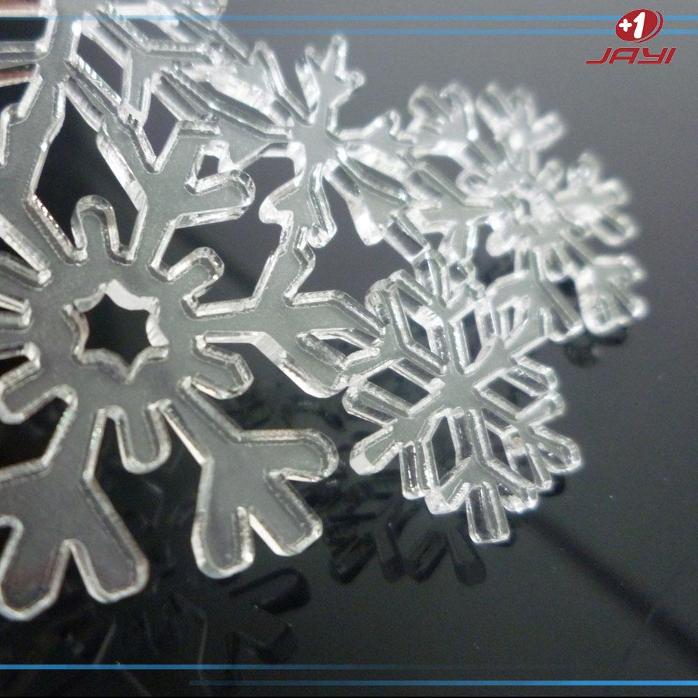 有机玻璃雪花片 透明